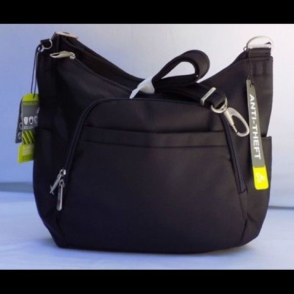 505331467 Travelon Bags | Antitheft Classic Cross Body Bucket Bag | Poshmark